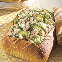Tuna Salad With Lemon Aioli recipe
