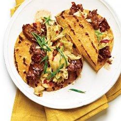 Korean-Style Beef Tacos recipe