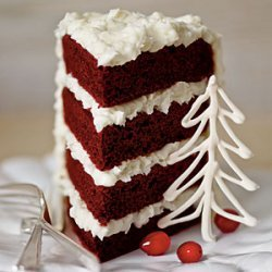 Red Velvet Cake with Coconut-Cream Cheese Frosting recipe