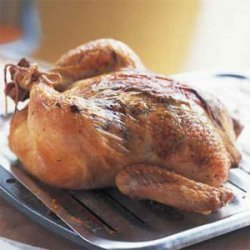 Sunday Roasted Chicken with Giblet Gravy recipe