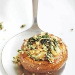 Stuffed Mushrooms With Spinach recipe