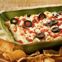 Layered Hot Artichoke and Feta Dip recipe