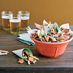Easy Party Snack Mix recipe