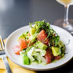 Avocado, Grapefruit, and Shiso Salad recipe