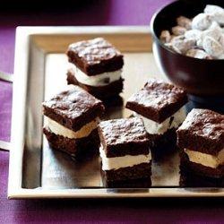 Brownie Ice Cream Mini-wiches recipe