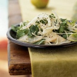 Escarole and Fennel Salad with Pears and Gruyère recipe