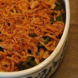 Green Bean Casserole with Bella Mushrooms recipe