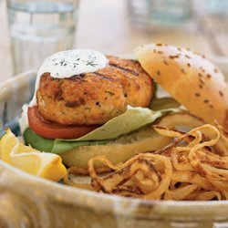 Fresh Salmon Burgers recipe