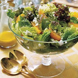 Mixed Green Salad with Oranges recipe