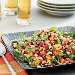Lucky Black-eyed Pea Salad recipe