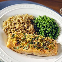 Roasted Salmon with Citrus and Herbs recipe