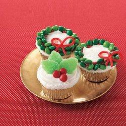 Orange Cupcakes with Vanilla Frosting recipe