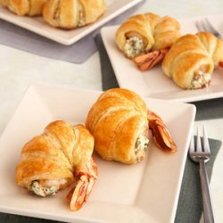 Puff Pastry-Wrapped Jumbo Shrimp recipe