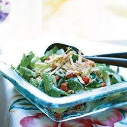 Caesar Salad with Chile-Cilantro Dressing recipe