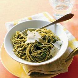Swiss Chard Pesto Pasta recipe