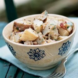 Roasted Potato Salad with Mustard Dressing recipe