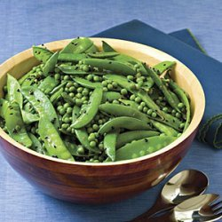 Sugar Snap-Snow Pea Salad recipe