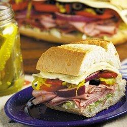 Colossal Hero Sandwich recipe