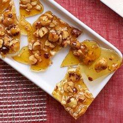 Candied Hazelnut Brittle recipe
