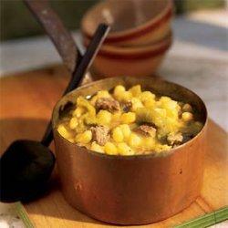 Hopi Hominy and Lamb Stew recipe