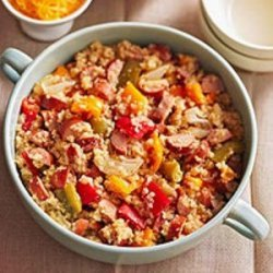 Quinoa with Sausage and Peppers recipe
