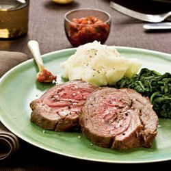 Leg of Lamb with Spicy Harissa recipe