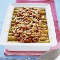 Turkey Enchiladas with Sour Cream recipe