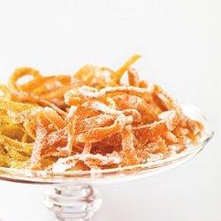 Candied Satsuma Peel recipe
