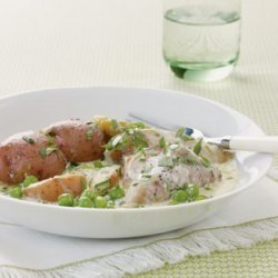 Slow Cooker Chicken with Tarragon and Leeks recipe
