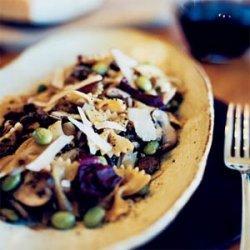 Shiitake-Ginger Pasta Salad with Radicchio recipe