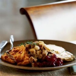 Savory Fruited Stuffing recipe