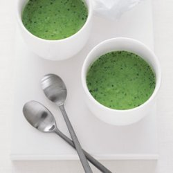 Chilled Sweet Pea and Watercress Soup recipe