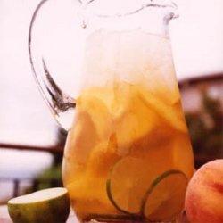 Sauvignon Blanc Peach Sangria recipe