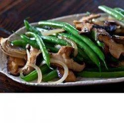 Green Bean and Shiitake Mushroom Stir Fry recipe