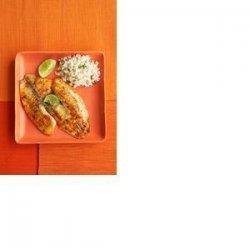 Lime & Basil Tilapia recipe