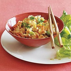 Fried Brown Rice with Edamame recipe