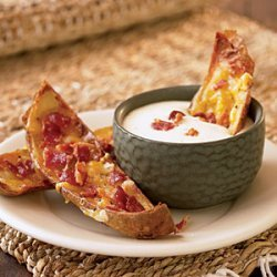 Stuffed Potato Skins recipe