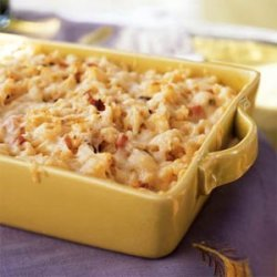 Spaetzle Baked with Ham and Gruyère recipe
