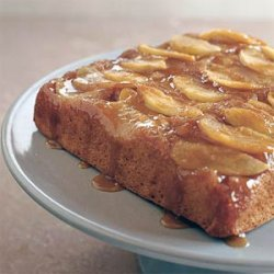 Caramel Apple Upside-Down Cake recipe