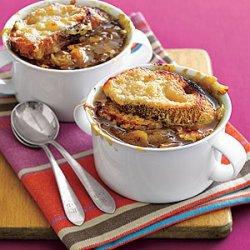 Onion Soup Gratine recipe