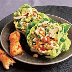 Crab and Grilled Corn Salad recipe