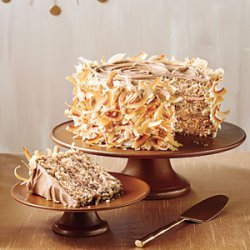 Caramel Italian Cream Cake recipe