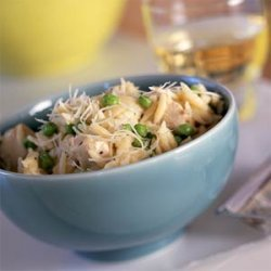 Orzo with Chicken and Asiago recipe