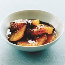 Oranges with Balsamic-and-Anise Caramel recipe