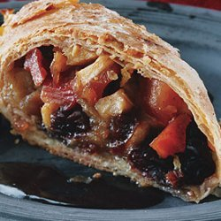 Quince Apple Strudels with Quince Syrup recipe