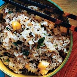 Ginger Pineapple Fried Rice recipe