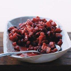 Cranberry Quince Sauce recipe