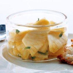Mint Julep Pineapple recipe