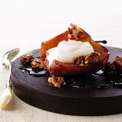 Baked Apples with Candied Walnuts recipe