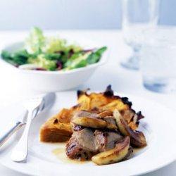 Roast Pork Tenderloin with Apples and Cider Sauce recipe